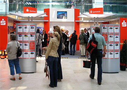 SPARKASSE Messestand